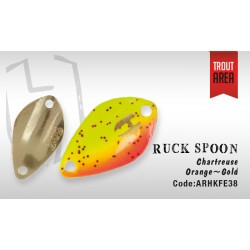 Ruck Spoon 2,0g Chart Orange Gold