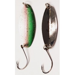 Trout Spoon XI - 2,0g - rainbow-trout / silber
