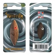 OGP Twister 7,5g Brown Glow Pellet