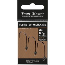 Tungsten Micro Jigs Gr.6-0,5g Natur