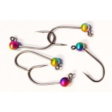 Tungsten Jig Hook Gr. 4 - 019 MB Rainbow