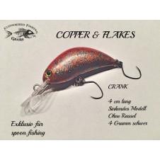 Crank 4cm - Copper & Flakes