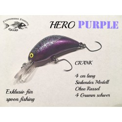 Crank 4cm - Hero Purple