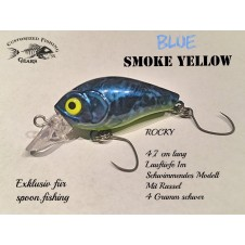 Rocky 4,7cm - Blue Smoke Yellow