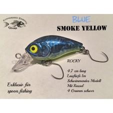Rocky 4,7cm - Blue Smoke Yellow