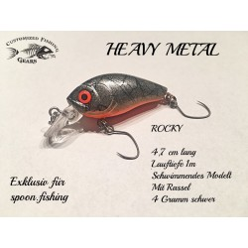 Rocky 4,7cm - Heavy Metal