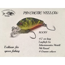 Rocky 4,7cm - Psychotic Yellow