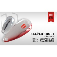 Keeper Trout 2,5g Silver Red