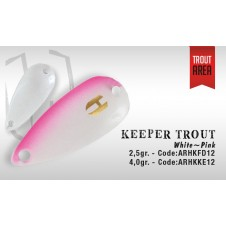 Keeper Trout 2,5g White Pink