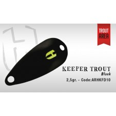 Keeper Trout 2,5g Chart. Black