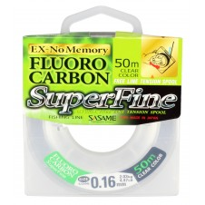 Sasame Fluoro Carbon SuperFine 50m 0,16mm