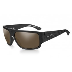 Vallus Polarized Amber Matte Black Frame