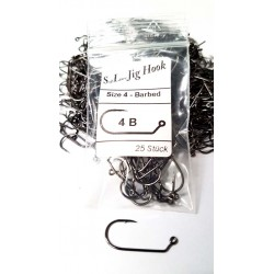 Soft Lure Jig Hook Barbed - Gr. 4