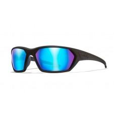 Wiley X IGNITE Polarized Blue Mirror Matte Black Frame
